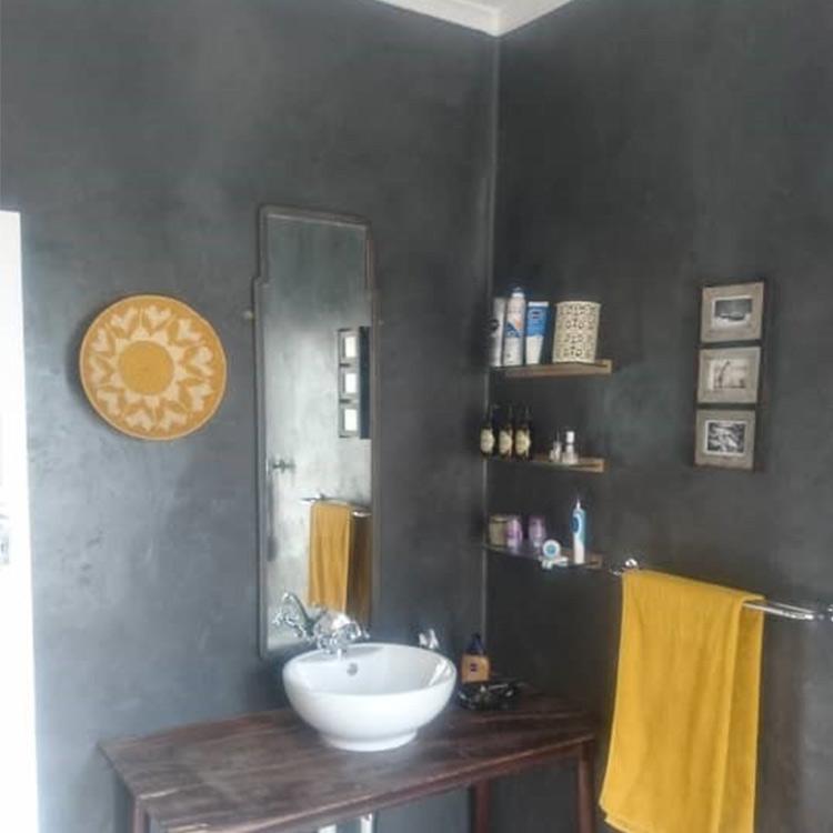 Santincrete Graphite Bathroom